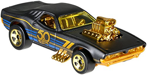 HW Hotwheels 50th Anniversary Negro y Oro FRN36 – Rodger Dodger 3/6