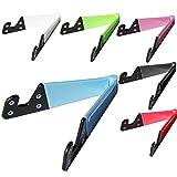 6 PCS Universalbewegliche faltbare V-Form-Handy-Tablet-Schreibtisch-Standplatz-Halter-Berg für iPhone 5 5S 6S iPad 4 Mini Samsung Vorsprung-Samsungs-Galaxie S3 S4