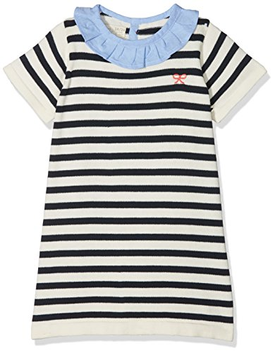 ZIPPY ZTG21_430_36, Robe Bébé Fille, Bleu (Dress Blue 19-4024 TC), 74 cm