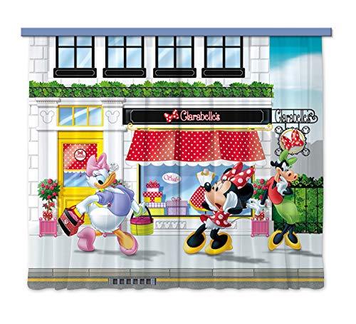 Ag design fcsxl 4310 tende-stampa foto 3d, 100% kunstseide/pvc, multicolore, 180 x 160