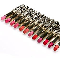 Sannysis 12pcs Pintalabios Mágico Originales Lápiz labial brillo de labios