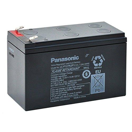 Panasonic - Akku AGM PANASONIC LC-P127R2P1 FR 12V 7.2Ah F6.35