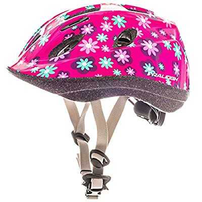 Raleigh Mystery Dottie Girl Kids Helmet - Pink by Raleigh