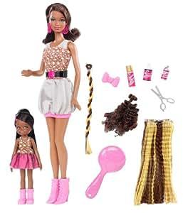 Barbie soeurs so in style blacK Grace et Courtney