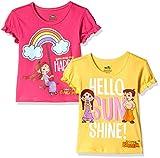 #9: Chhota Bheem Girls' T-Shirt (Pack of 2)