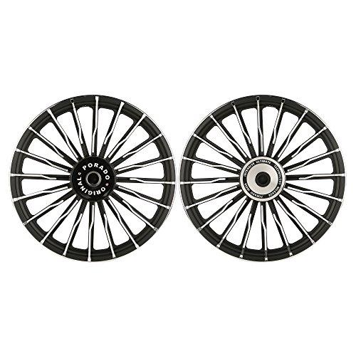 autofy porado 20 wave spokes black and chrome alloy wheels (set of 2) Autofy Porado 20 Wave Spokes Black and Chrome Alloy Wheels (Set of 2) 51CQRMnXhHL
