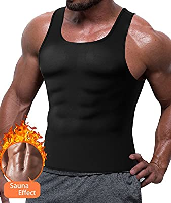 Men Waist Trainer Body Slim Suit Fat Burner Shaper Sauna Hot Sweat Weight Loss Vest Neoprene Underwear