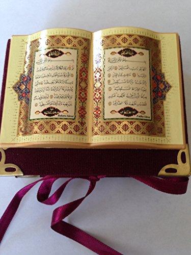 Wunderschöner Mini-Koran in Samtbox