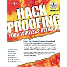 Hackproofing Your Wireless Network by Syngress (2002-02-28)
