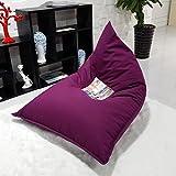 Sofá perezoso Sofá único creativo de la personalidad de la tela ( Color : Purple )