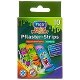Figo Kinder-Pflaster'Kleine Monster', 2er Pack (2 x 10 Stück)