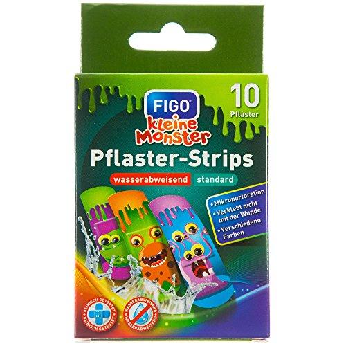 "Figo Kinder-Pflaster""Kleine Monster"", 2er Pack (2 x 10 Stück)"