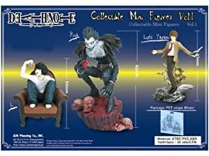 Death Note Collectible Mini Figuren Vol. 1: Ryuk, Light & L