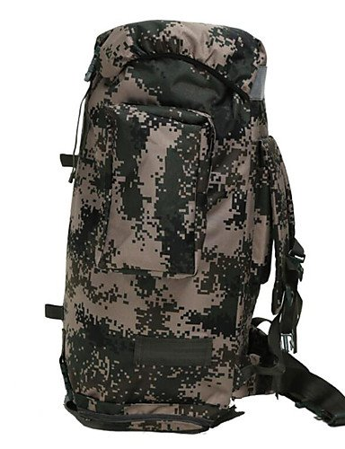 HWB/ 2 L Rucksack Camping & Wandern Legere Sport Multifunktions Armeegrün Nylon Other army green
