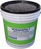 Asfalto Freddo Vodiasfalt 5Kg impermeabilizzante e Protettivo in edilizia