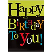 Hallmark Birthday Card 'Have A Great Day' - Medium