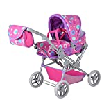 Knorrtoys 11415 Puppenwagen, Pink