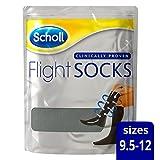 Scholl Flight Socks 1 Pair Shoe - Sizes 9 1/2-12, Black