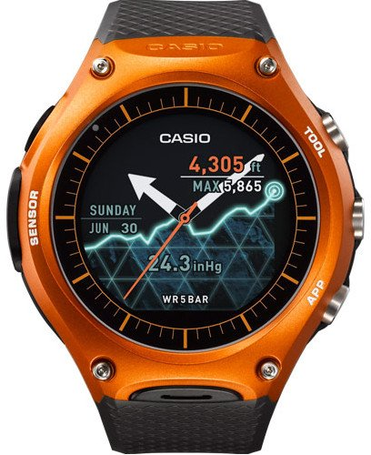 Bestseller Outdoor Smartwatch: Casio WSD-F10