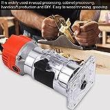 580W Elektrik Kantenfräse Holzbearbeitung Oberfräse Holz Laminergerät 220V Es ist weit verbreitet in Holzverarbeitung, Schrankverarbeitung, Handwerk Produktion und DIY