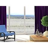 Sichtschutzfolie Fensterfolie Folie Fr Wohnzimmer Streifen Dick Dnn Linien 200x57cm