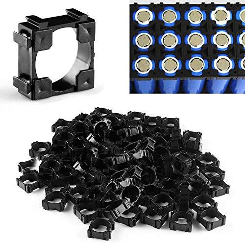 100 Stück 18650 Lithium Ionen Akku-Verbinder Batterie Halter Bracket - 18650 Lithium-batterie