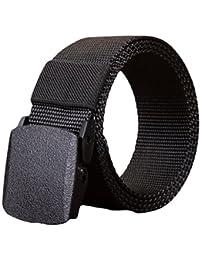 STRIR Nylon Correa Transpirable Hombres Aire Libre Impermeable Cinturón  Cinta Hebilla De Plástico 61f4f2c9a882