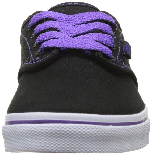 Vans - Scarpe sportive - Skateboard Z Atwood Low (Canvas), Bambina Nero (Noir (Black))