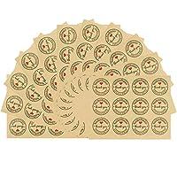 ملصقات شكراً لك، 480 قطعة دائرية لشكر لك ملصقات التسمية اللاصقة، ملصقات لاصقة ورقية، ملصقات ختم ديكور لحفلات الزفاف وحفلات استقبال المولود وهدايا عيد الميلاد والعمل