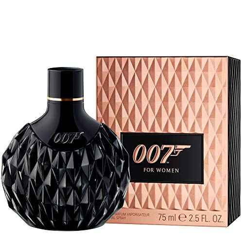 James Bond 007 for Women – Eau de Parfum Damen Natural Spray I – Orientalisch-blumiges Damen Parfüm - wie für ein Bond Girl geschaffen – 1er Pack (1 x 75ml)