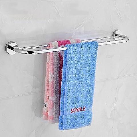 XXTT-Stelo in acciaio inox, porta asciugamani, asciugamani, bagno accessori hardware