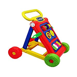 PrimeKart Goyal's My First Step Baby Activity Walker (Red, 9 Months -1.5 Years)