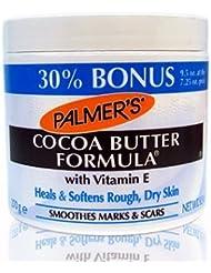 Beurre de cacao à la vitamine E - Guérit et adoucit la peau rugueuse et sèche - Pot de 270 g (30% en plus)