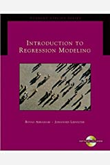 Introduction to Regression Modeling (with CD-ROM) (Duxbury Applied) Hardcover