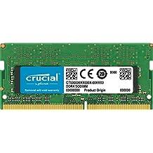 Crucial 4GB DDR4 2133 MT/s (PC4-17000) SR x8 260-Pin SODIMM  - CT4G4SFS8213