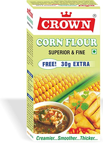 Crown Corn Flour (Total: 910g)-Pack of 7
