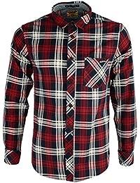 Chemise en flanelle imprimée à carreaux 'Carlsson' par Tokyo Laundry pour homme