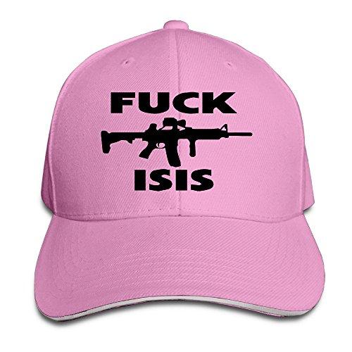 keiopo Fuck Isis al aire libre Sandwich gorras de visera sombreros