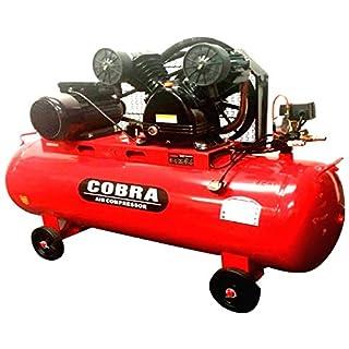 COBRA 150 LITRE 150L TWIN BELT DRIVE 240V 4HP 14 CFM V ENGINE AIR COMPRESSOR