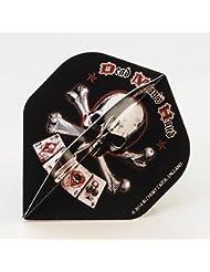 5 x Sets Dead mans Hand Alchemy Standard Dart Flights Evil by PerfectDarts