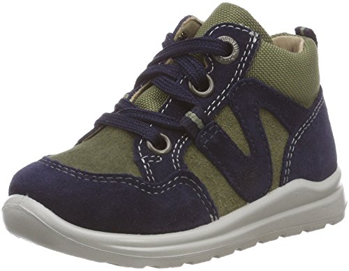 Superfit Baby Jungen Mel Sneaker, Blau (Blau/Grün 80), 26 EU