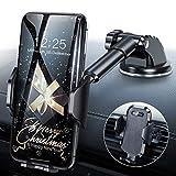 Handyhalterung Auto Handyhalter fürs Auto Lüftung & Saugnapf Halterung Handyhalterung fürs Auto 3 in 1 Universale KFZ Handyhalterung Smartphone Halterung für iPhone/Samsung/Huawei/Xiaomi/LG usw. -