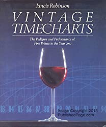 Vintage Timecharts: The Pedigree and Performance of Fine Wines to the Year 2000 by Jancis Robinson (1989-10-02)