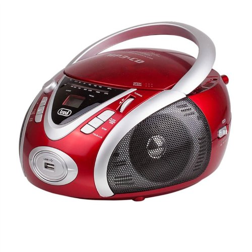 Trevi CMP 542 USB Stereo Portatile Cd/Mp3/Usb rosso