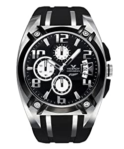 Viceroy - 47551-15 - Montre Homme - Quartz - Bracelet Caoutchouc Noir