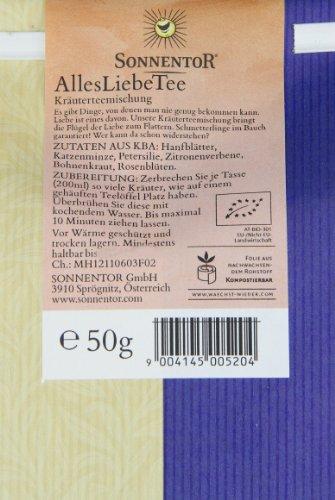 Sonnentor Alles Liebe-Kräutertee lose, 1er Pack (1 x 50 g) - Bio - 2