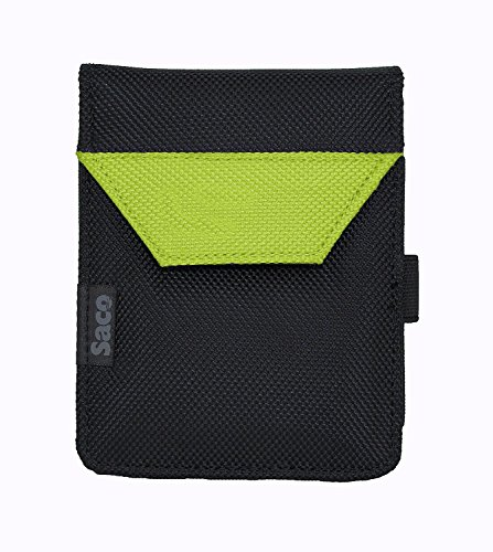 Saco Laptop Hard Disk Plug and Play Pouch Sleeve Bag for External Hard Disk Casing 2.5 inch Sata - Green