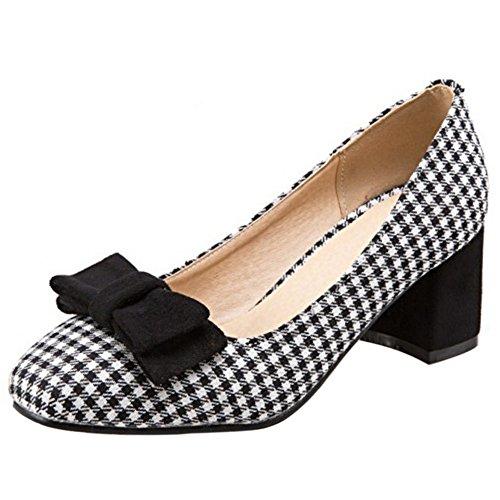 Coolcept Ferme Chaussures Carre Classique Bloc Carreau A Enfiler qadd1U
