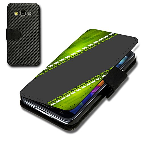 Book Style Carbon Flip Handy Tasche Hülle Schale Motiv Foto Etui für Sony Xperia Z5 - Flip CB8 Design7