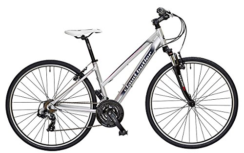 Claud Butler Explorer 300 Ladies 18 Inch Silver Explorer Bike
